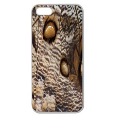 Butterfly Wing Detail Apple Seamless iPhone 5 Case (Clear)