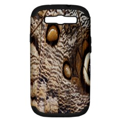 Butterfly Wing Detail Samsung Galaxy S III Hardshell Case (PC+Silicone)