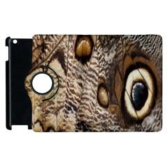 Butterfly Wing Detail Apple Ipad 3/4 Flip 360 Case