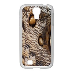 Butterfly Wing Detail Samsung Galaxy S4 I9500/ I9505 Case (white)
