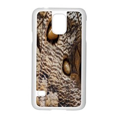 Butterfly Wing Detail Samsung Galaxy S5 Case (White)