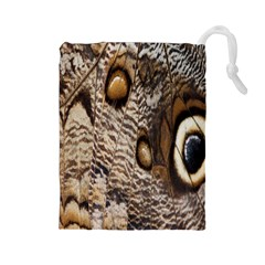 Butterfly Wing Detail Drawstring Pouches (large)