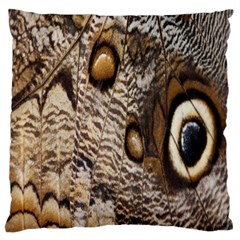 Butterfly Wing Detail Large Flano Cushion Case (One Side)