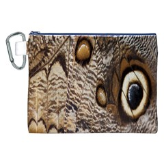 Butterfly Wing Detail Canvas Cosmetic Bag (xxl)