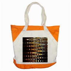 Bright Yellow And Black Abstract Accent Tote Bag