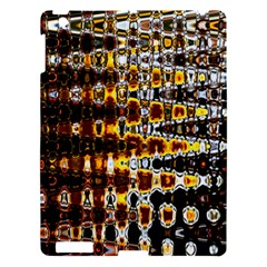 Bright Yellow And Black Abstract Apple Ipad 3/4 Hardshell Case