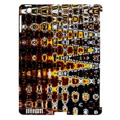 Bright Yellow And Black Abstract Apple Ipad 3/4 Hardshell Case (compatible With Smart Cover)