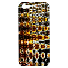 Bright Yellow And Black Abstract Apple Iphone 5 Hardshell Case