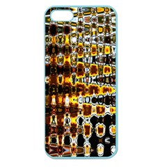 Bright Yellow And Black Abstract Apple Seamless iPhone 5 Case (Color)