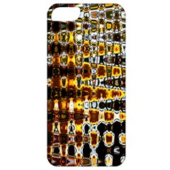 Bright Yellow And Black Abstract Apple iPhone 5 Classic Hardshell Case
