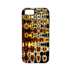 Bright Yellow And Black Abstract Apple iPhone 5 Classic Hardshell Case (PC+Silicone)