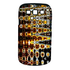 Bright Yellow And Black Abstract Samsung Galaxy S Iii Classic Hardshell Case (pc+silicone)