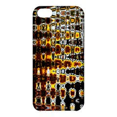 Bright Yellow And Black Abstract Apple iPhone 5C Hardshell Case