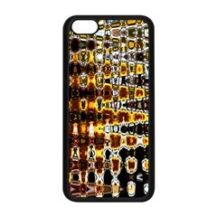 Bright Yellow And Black Abstract Apple Iphone 5c Seamless Case (black)