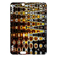 Bright Yellow And Black Abstract Kindle Fire Hdx Hardshell Case