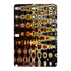 Bright Yellow And Black Abstract Samsung Galaxy Tab Pro 10 1 Hardshell Case