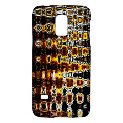 Bright Yellow And Black Abstract Galaxy S5 Mini