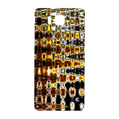Bright Yellow And Black Abstract Samsung Galaxy Alpha Hardshell Back Case