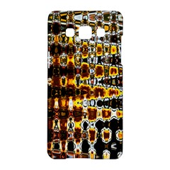 Bright Yellow And Black Abstract Samsung Galaxy A5 Hardshell Case