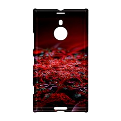 Red Fractal Valley In 3d Glass Frame Nokia Lumia 1520