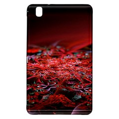 Red Fractal Valley In 3d Glass Frame Samsung Galaxy Tab Pro 8.4 Hardshell Case