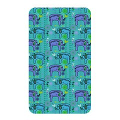 Elephants Animals Pattern Memory Card Reader