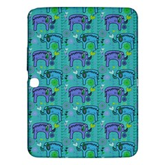 Elephants Animals Pattern Samsung Galaxy Tab 3 (10.1 ) P5200 Hardshell Case