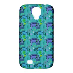 Elephants Animals Pattern Samsung Galaxy S4 Classic Hardshell Case (PC+Silicone)