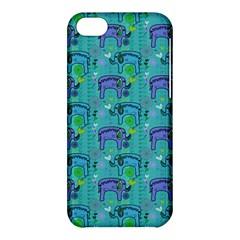 Elephants Animals Pattern Apple Iphone 5c Hardshell Case