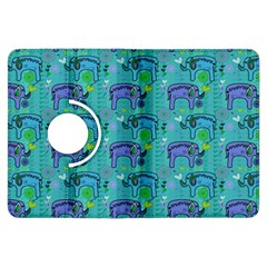 Elephants Animals Pattern Kindle Fire HDX Flip 360 Case