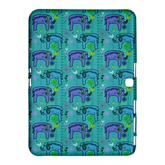 Elephants Animals Pattern Samsung Galaxy Tab 4 (10.1 ) Hardshell Case