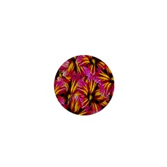 Floral Pattern Background Seamless 1  Mini Magnets