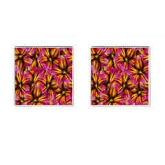 Floral Pattern Background Seamless Cufflinks (square)