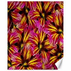 Floral Pattern Background Seamless Canvas 16  x 20