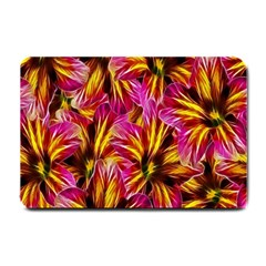 Floral Pattern Background Seamless Small Doormat