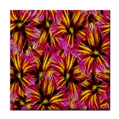 Floral Pattern Background Seamless Face Towel