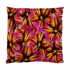 Floral Pattern Background Seamless Standard Cushion Case (One Side)