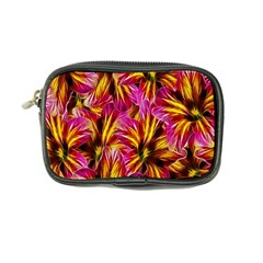 Floral Pattern Background Seamless Coin Purse
