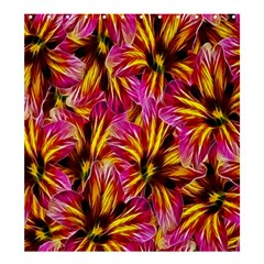 Floral Pattern Background Seamless Shower Curtain 66  x 72  (Large)