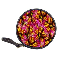 Floral Pattern Background Seamless Classic 20 Cd Wallets