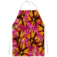 Floral Pattern Background Seamless Full Print Aprons