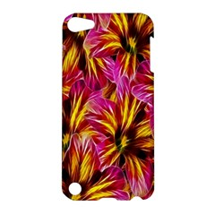 Floral Pattern Background Seamless Apple iPod Touch 5 Hardshell Case