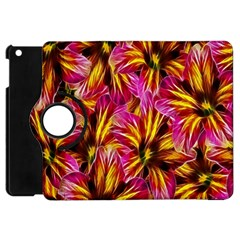 Floral Pattern Background Seamless Apple Ipad Mini Flip 360 Case