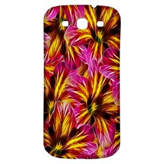 Floral Pattern Background Seamless Samsung Galaxy S3 S III Classic Hardshell Back Case