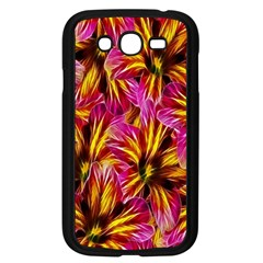 Floral Pattern Background Seamless Samsung Galaxy Grand DUOS I9082 Case (Black)