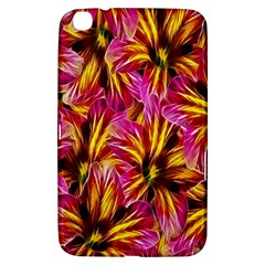 Floral Pattern Background Seamless Samsung Galaxy Tab 3 (8 ) T3100 Hardshell Case