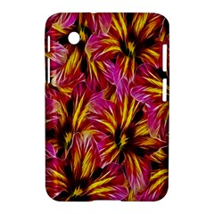 Floral Pattern Background Seamless Samsung Galaxy Tab 2 (7 ) P3100 Hardshell Case