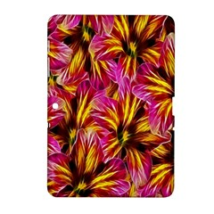 Floral Pattern Background Seamless Samsung Galaxy Tab 2 (10 1 ) P5100 Hardshell Case