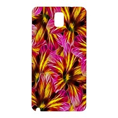 Floral Pattern Background Seamless Samsung Galaxy Note 3 N9005 Hardshell Back Case