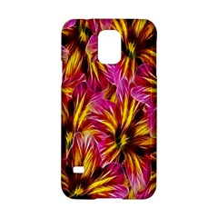 Floral Pattern Background Seamless Samsung Galaxy S5 Hardshell Case